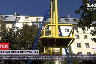 В Одессе ребенок оказалась в реанимации после прогулки на детской площадке