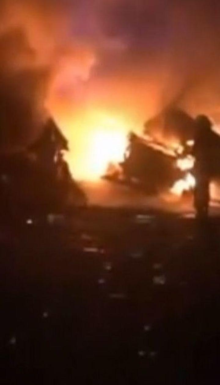 """Из-за столкновения фур на трассе """"Киев-Николаев"""" погибли два человека"""