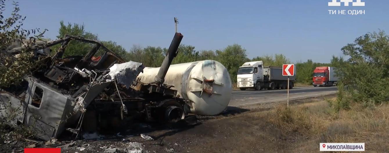 Столкновение фур слышали далеко вокруг: как произошло смертельное ДТП на трассе Киев — Николаев