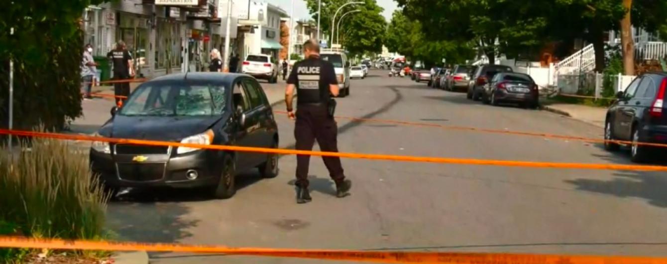 В канадском Монреале мужчина сбил на машине девять человек: есть потерпевшие