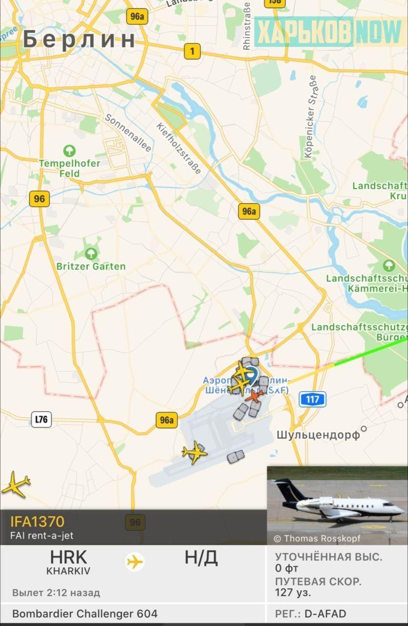 Кернес прилетів до Німеччини
