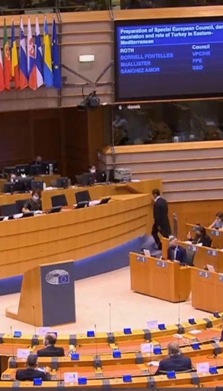 Европарламент может принять резолюцию, в которой не признает результаты выборов в Беларуси