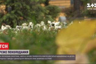 Останній теплий день: на Україну суне арктичне повітря