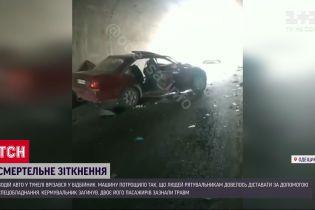 Во время аварии в Одесской области погиб один человек