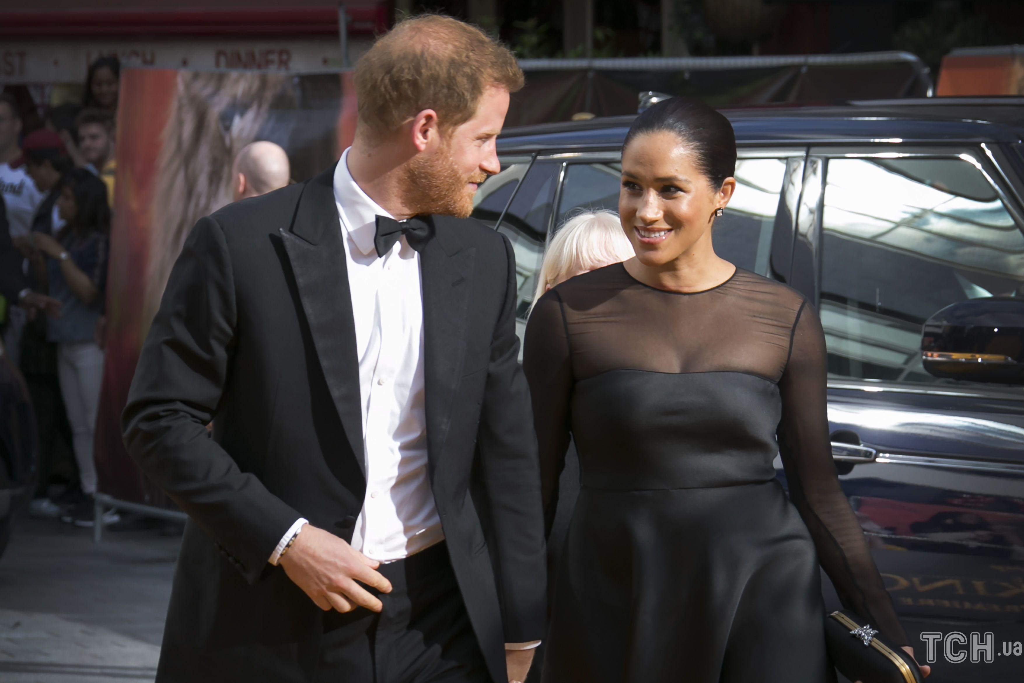 Принц Гарри и герцогиня Меган_1