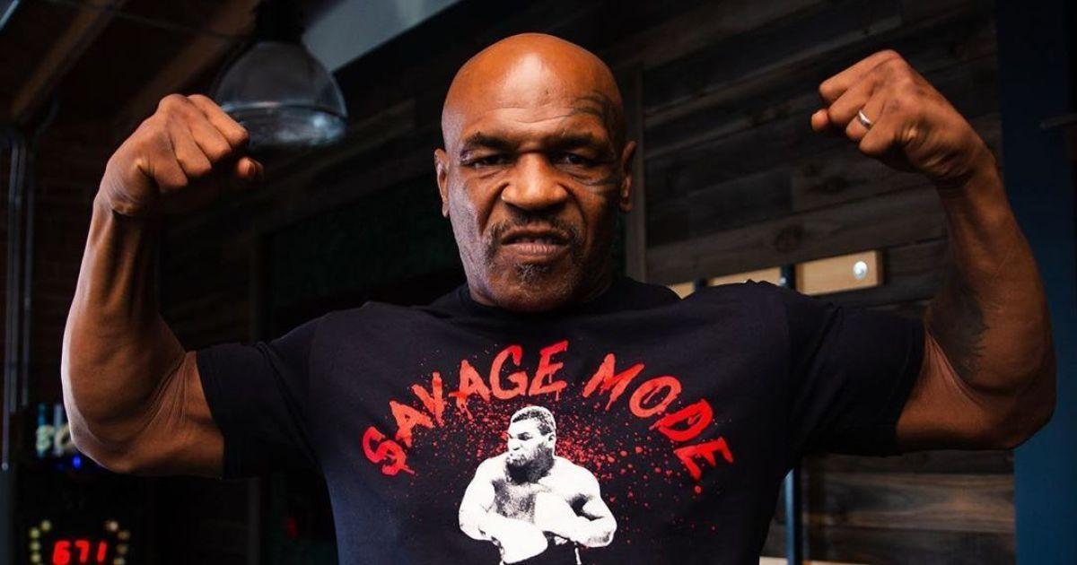 За неделю до боя с Джонсом: 54-летний Тайсон похвастался феноменальной формой