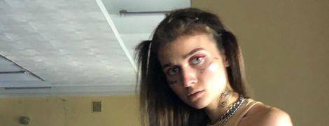 Jerry Heil у спідній білизні заінтригувала татуюванням в пікантному місці
