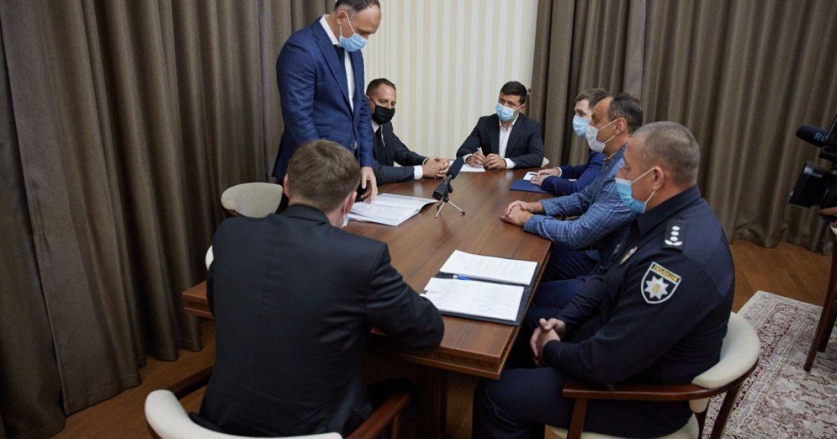 Зеленський дав два тижні силовикам Львівщини, щоб показати результат у боротьбі зі злочинністю