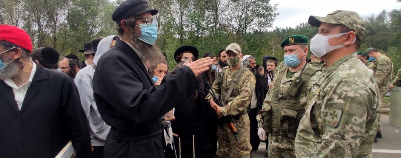 Хасиди на кордоні: близько тисячі паломників можуть зустріти юдейський новий рік у буферній зоні