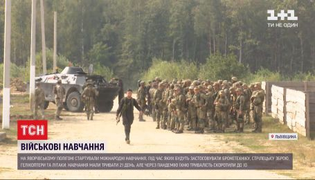 Міжнародні навчання: у Львівській області зібралися близько 4-ох тисяч військових із 10 країн світу