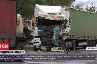 """Внаслідок двох аварій рух трасою """"Київ-Чоп"""" досі ускладнений"""