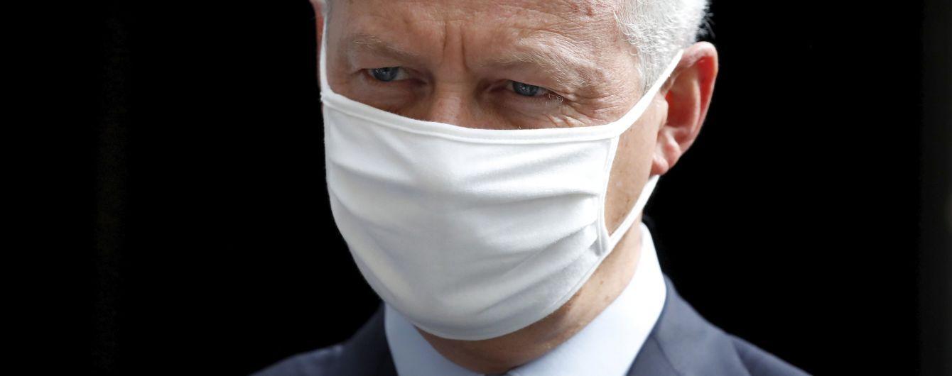 Министр экономики Франции заболел коронавирусом
