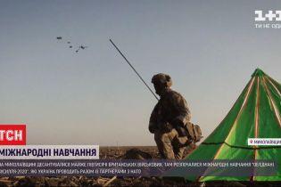 В Николаевской области провели самые масштабные за 20 лет обучения британских десантников