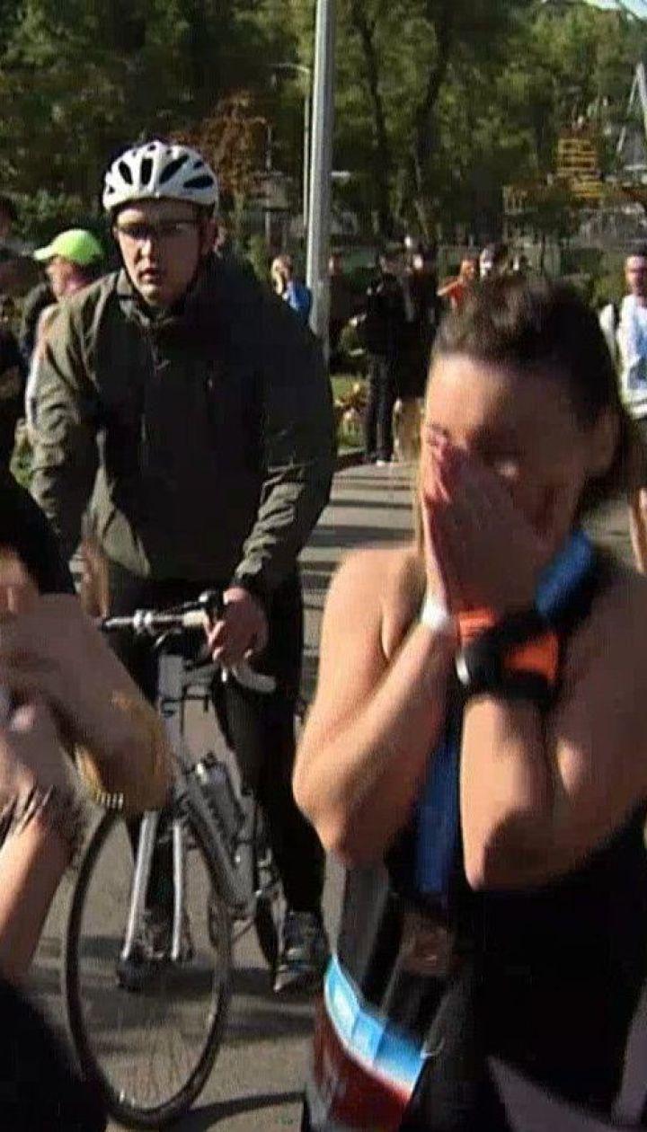 Онлайн-забег: в Киеве состоялся полумарафон