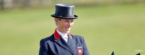 Верхи на коні: онука королеви Єлизавети II - Зара Тіндолл - взяла участь у змаганнях