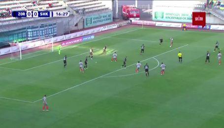 Заря - Шахтер - 0:1. Видео гола Марлоса