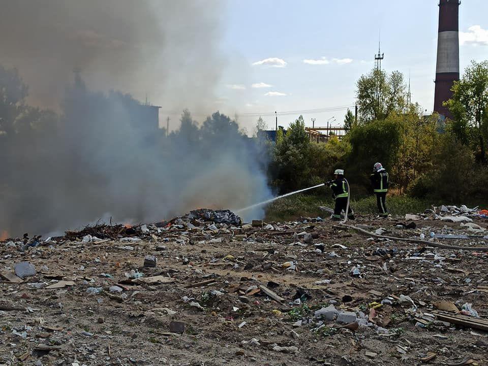 Пожежа Ревуцького