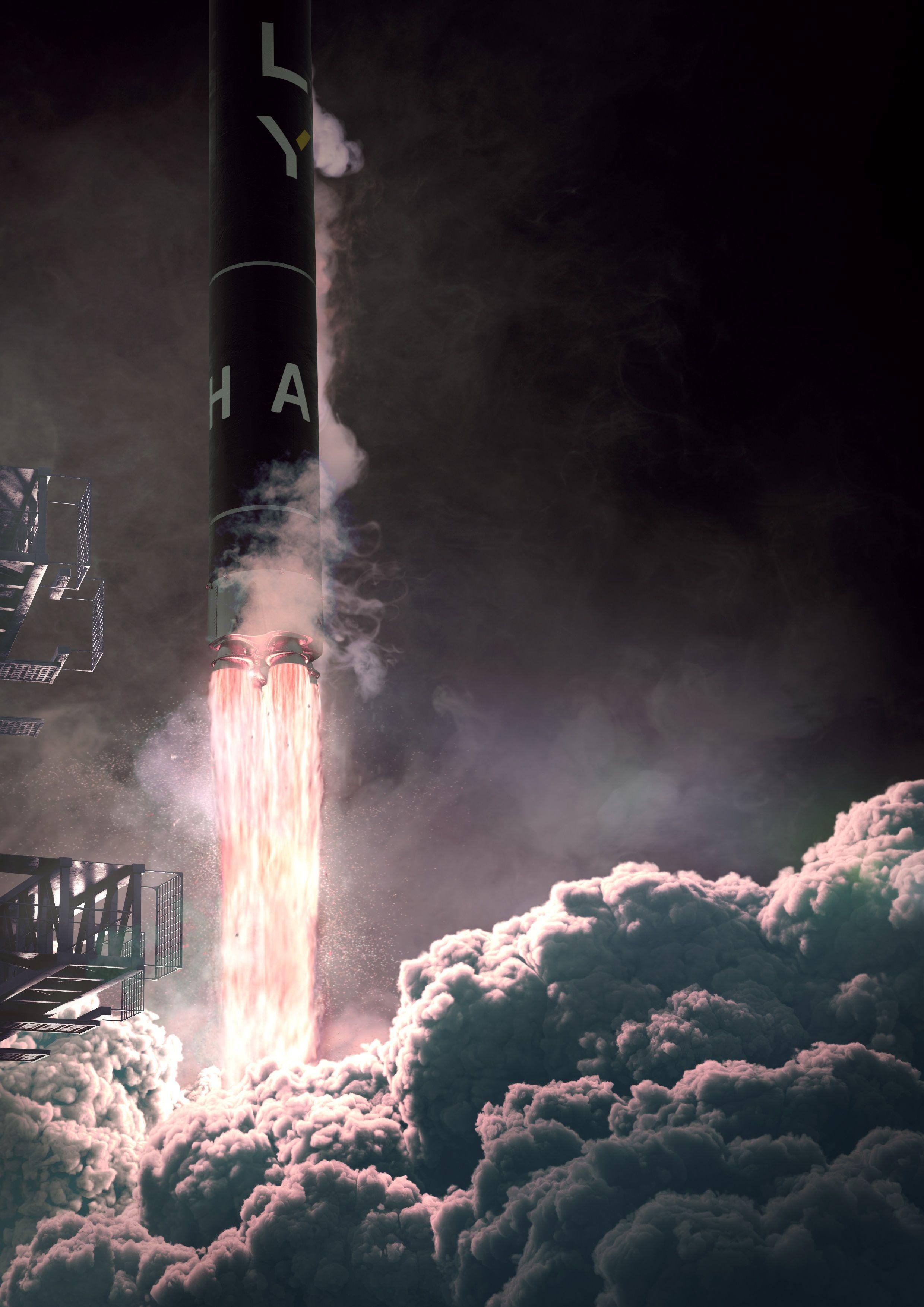 Україно-американська ракета Alpha успішно пройшла передпольотні випробування