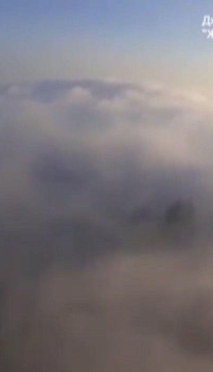 Киев затянуло дымом: видимость минимальная