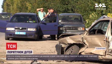 В Винницкой области в ДТП погибли два человека, двое детей в реанимации