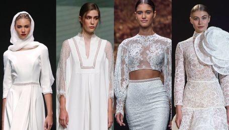 12 идей незабываемых образов: лучшие платья Недели свадебной моды в Барселоне
