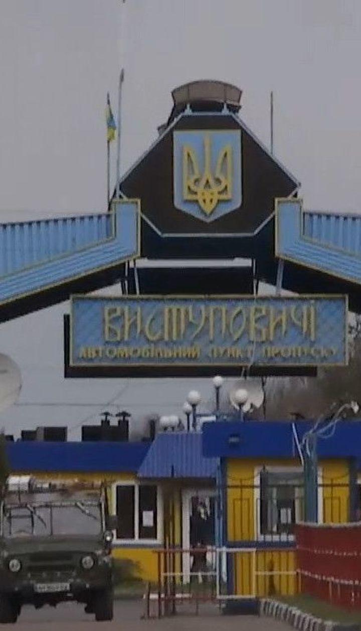 Затор із сотні вантажівок: біля кордону з Білоруссю закрили пункт пропуску