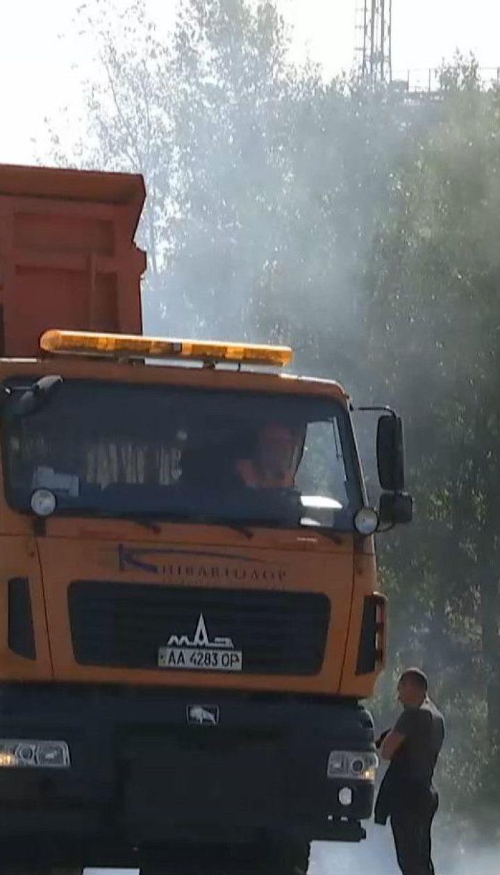 Смог і сморід: пожежа на сміттєзвалищі у Києві може вплинути на здоров`я киян