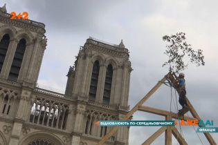 Нотр-Дам-де-Пари реконструируют по технологии, как и 8 веков назад