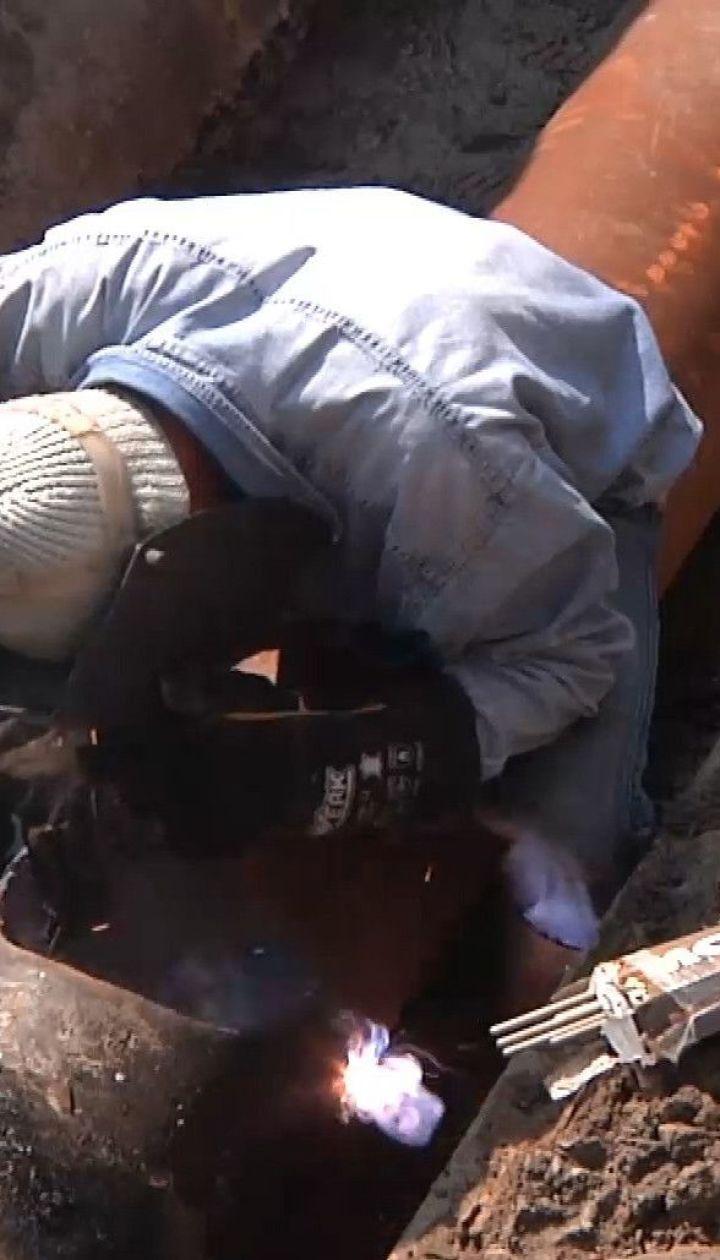 У Кропивницькому прорвало трубу тепломережі
