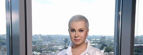 Алла Мазур впервые появилась в эфире без парика: как отреагировали зрители на образ телеведущей