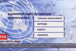 Завдяки глобальному опитуванню ООН дізналася, чого хочуть люди на всій планеті