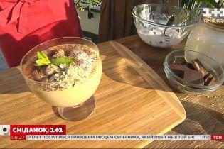 Полезный завтрак: кулинарный эксперт приготовил парфе из овсянки