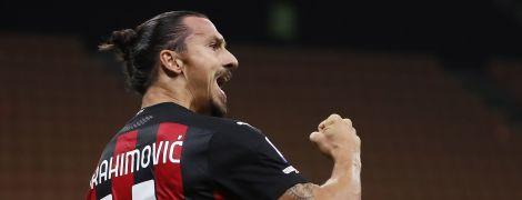 38-річний Ібрагімович оформив дубль і встановив феноменальне досягнення у світовому футболі