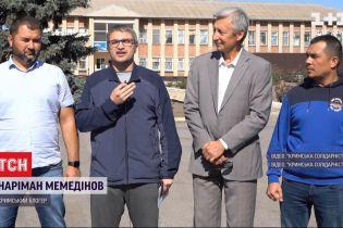 Крымскотатарский активист и блогер Мемединов вышел на свободу