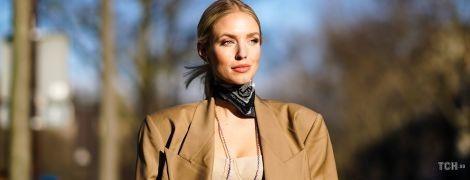 Как носить платок: четыре стильные идеи