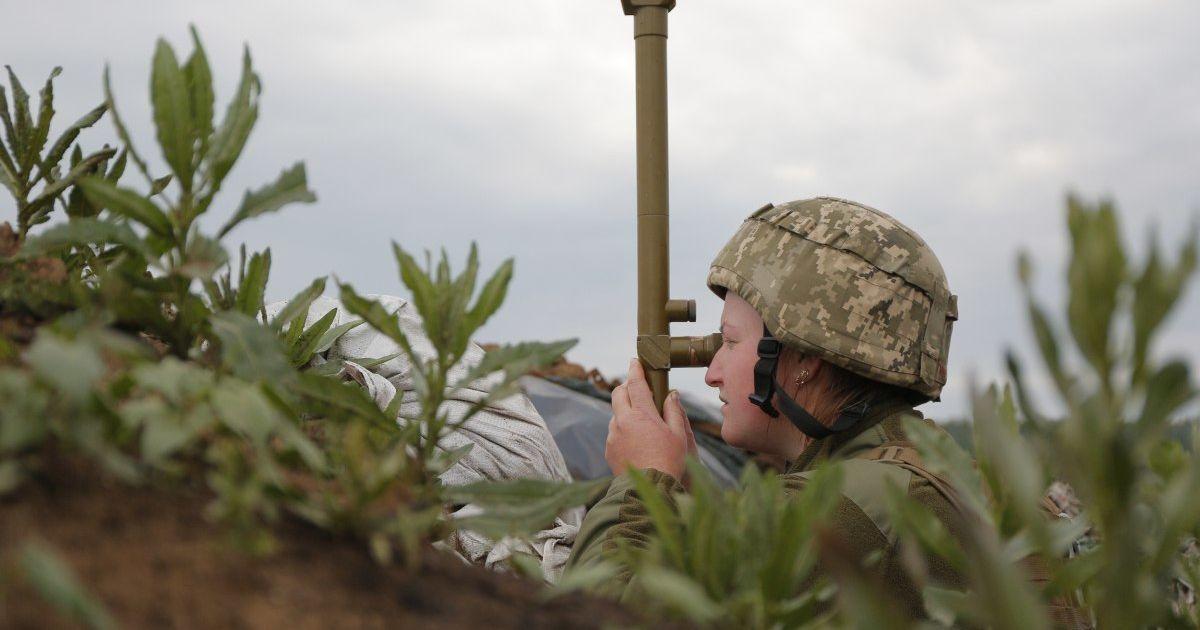 Окупанти на Донбасі обстрілювали позиції українських військових поблизу Катеринівки — ООС