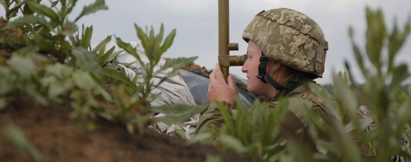 Боевики трижды открывали огонь в сторону украинских позиций — штаб ООС