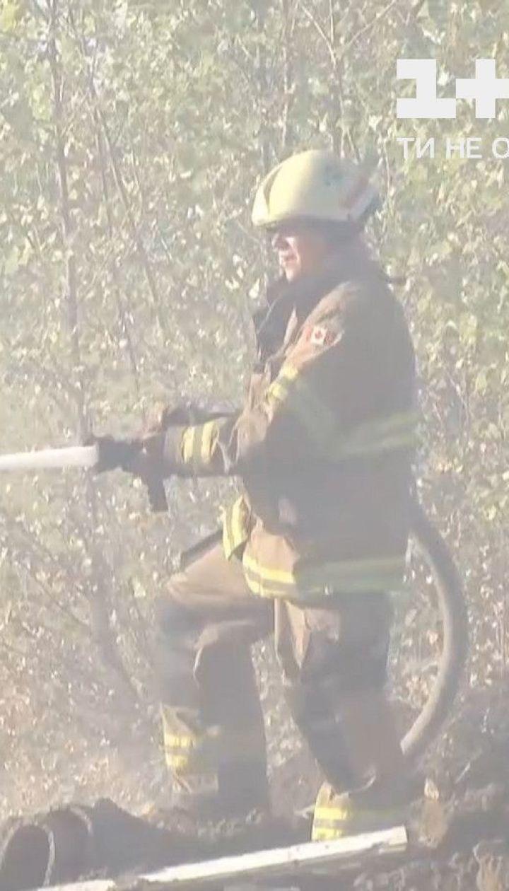 Все ще трохи смердить: вогнеборцям знадобилося 3 дні, аби загасити пожежу у столиці