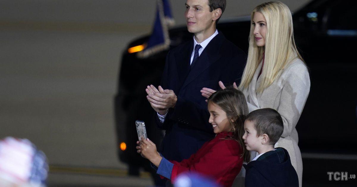 Іванка Трамп з сім'єю