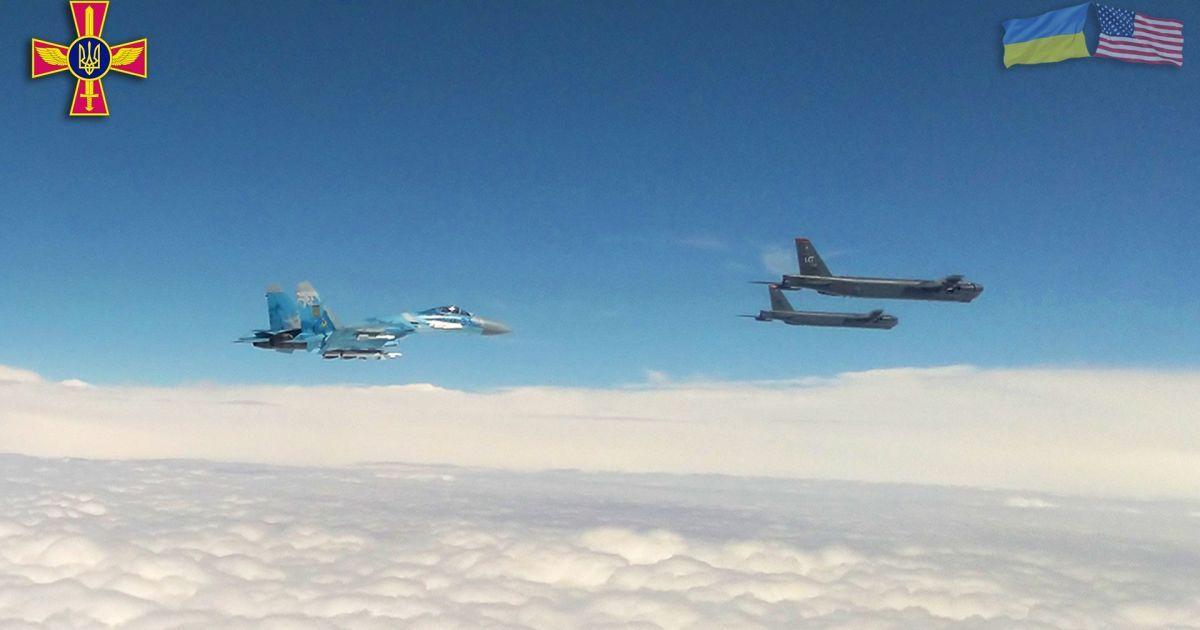 Стратегические бомбардировщики США вошли в воздушное пространство Украины