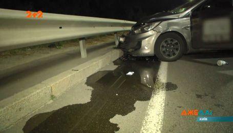 Авария из-за усталости: водитель вдруг выехал со своей полосы на встречную