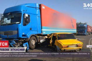 Столкновение с грузовиком вблизи Днепра: двое находятся в коме, а еще один в тяжелом состоянии