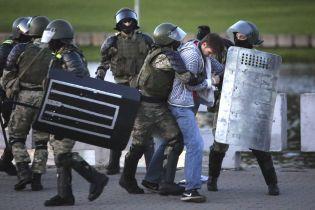 """У Білорусі під час """"народної інавгурації"""" Тихановської заарештували понад три сотні людей"""