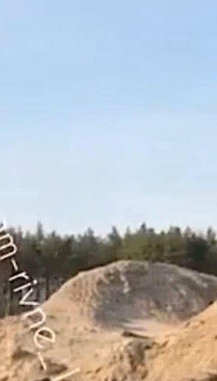 У Рівненській області СБУ викрила нелегальних бурштинокопачів