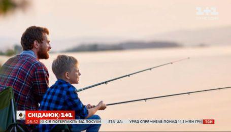 """Журналісти """"Сніданку"""" розповіли чим корисна риболовля"""
