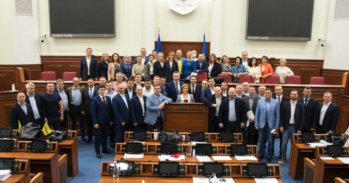 Состоялось последнее заседание Киевсовета восьмого созыва