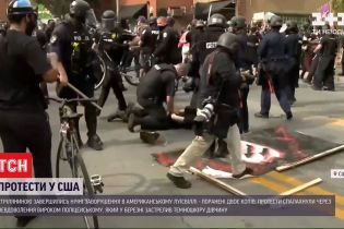 В результате массовых беспорядков в американском Луисвилле ранены двое полицейских
