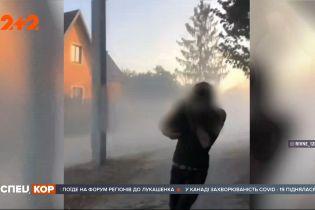 Вибухи та стрілянина: у Рівненській області спецпризначенці взяли бурштинокопачів