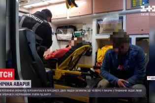 В пригороде Одессы в результате ДТП двое погибли, еще четверо в больнице