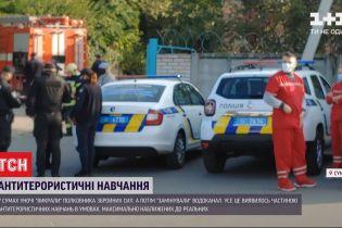 Антитерористичні навчання: у Сумах викрали полковника ЗСУ і замінували водоканал